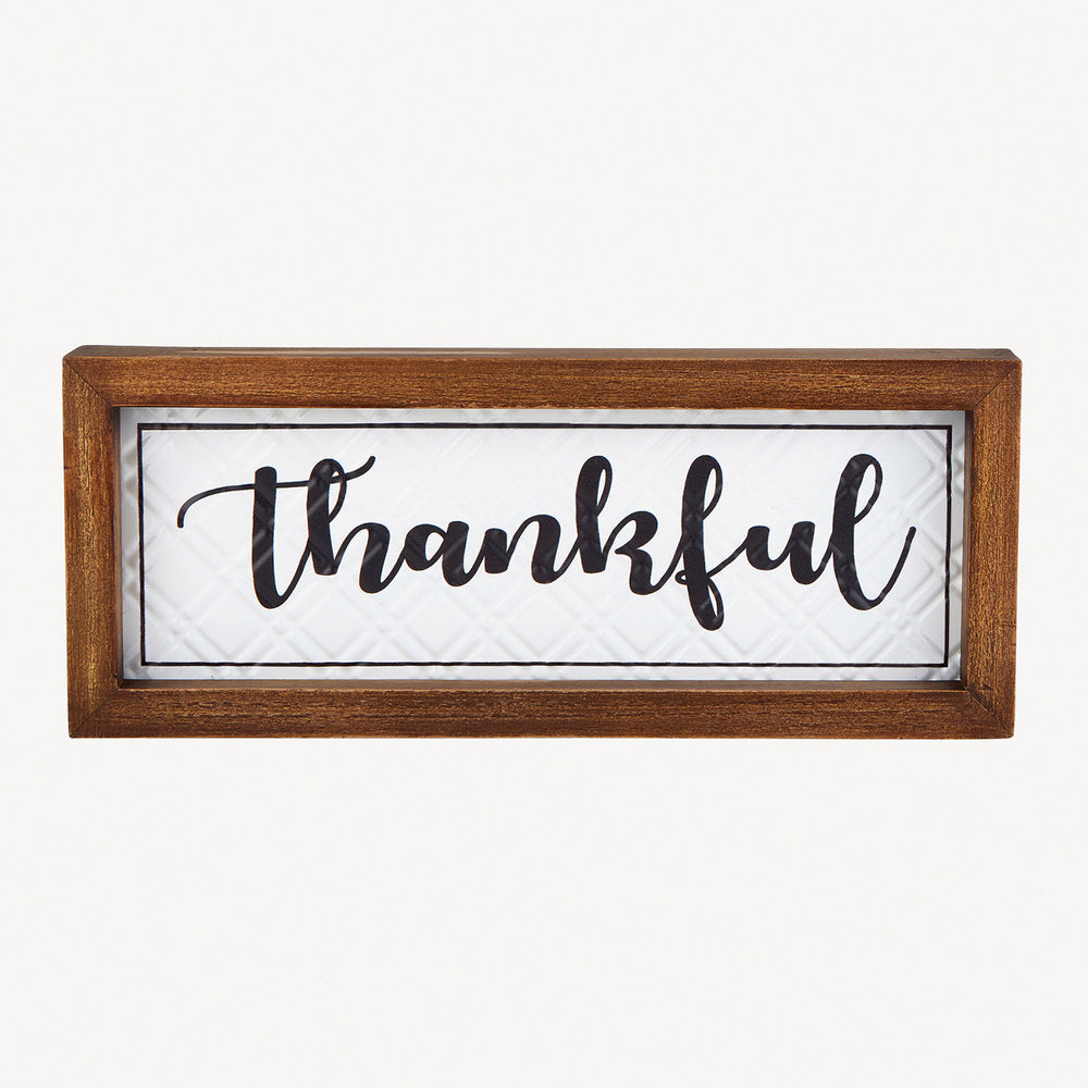 Thankful Wall Plaque