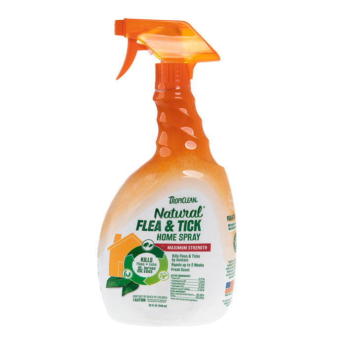 TropiClean Natural Flea and Tick Spray for Home