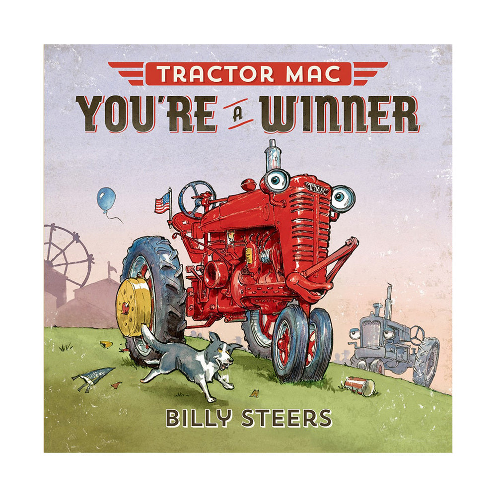 Tractor Mac You're A Winner Book