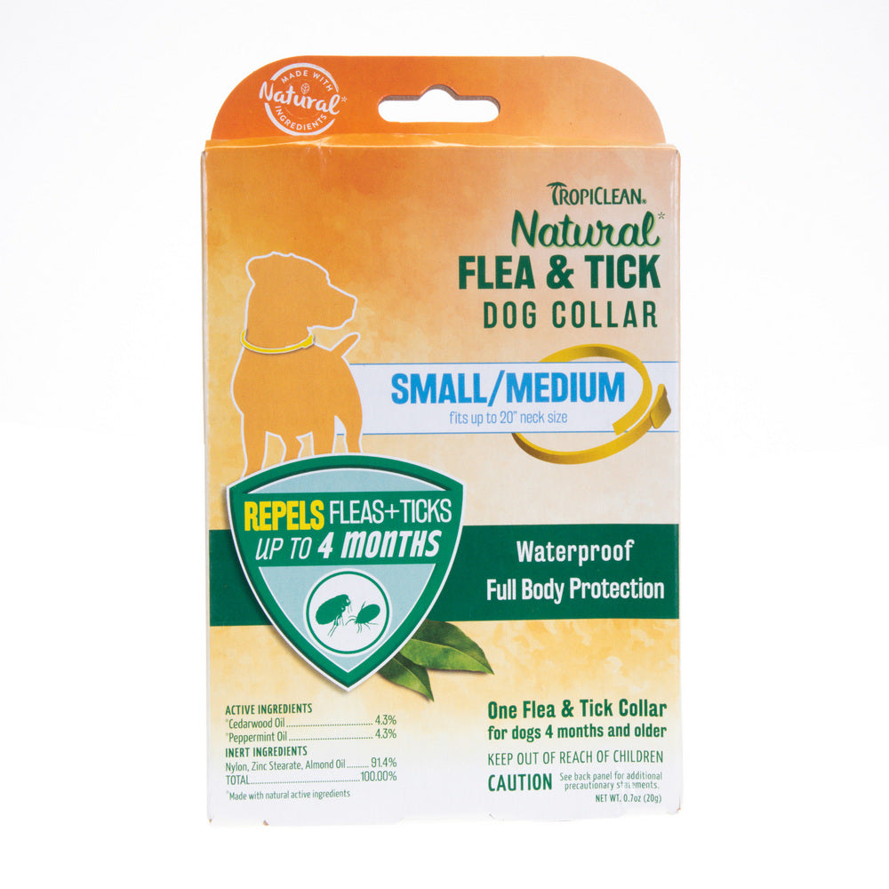 TropiClean Natural Flea and Tick Dog Collar