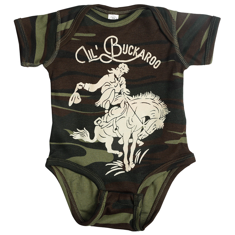 Boy's Rodeo Quincy Lil' Buckaroo Onesie