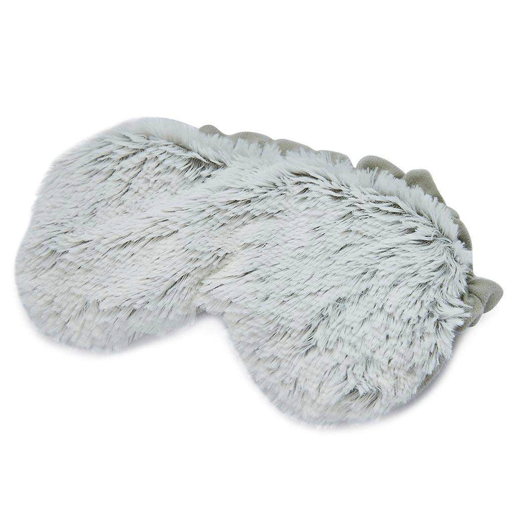 Warmies Marshmallow Gray Eye Mask