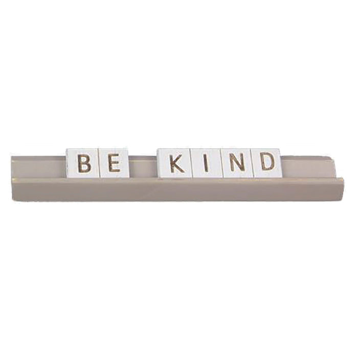 Be Kind Wood Letter Table Message Sign