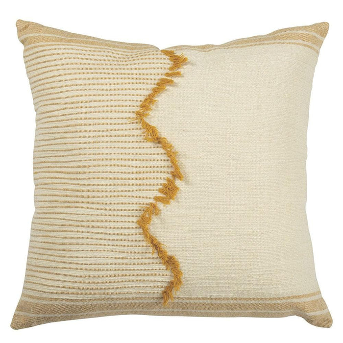 Saffron Zig Accent Pillow