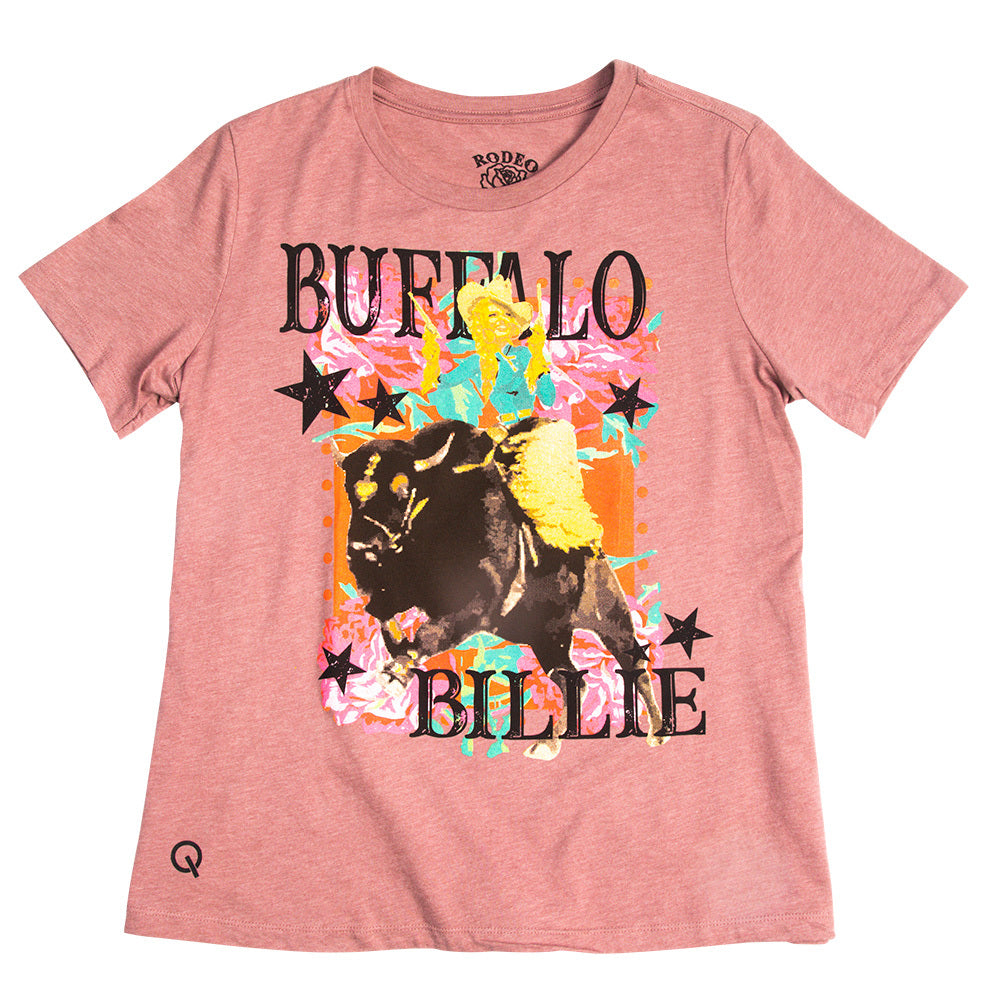 Women's Rodeo Quincy Buffalo Billie Graphic Tee