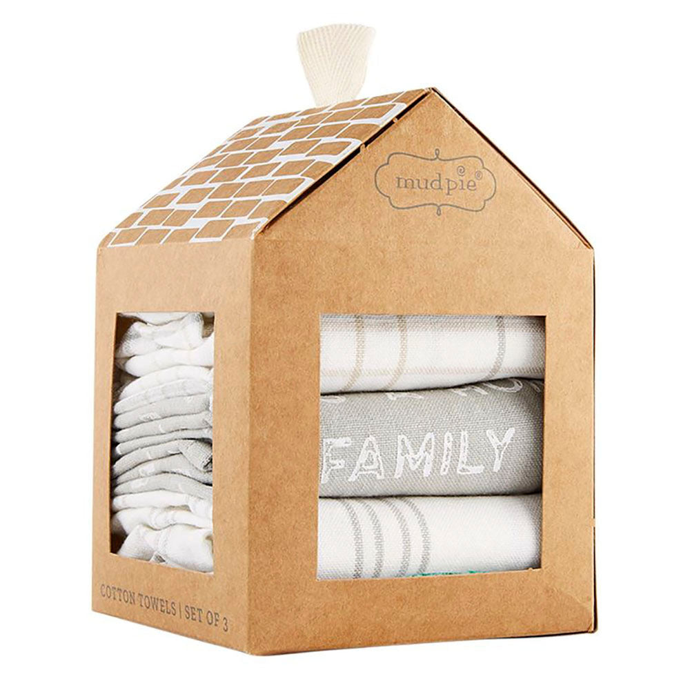 Mud Pie Family Makes This A Home Dish Towel Set