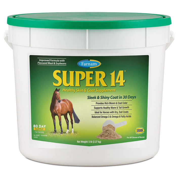 Farnam Super 14 Healthy Skin and Coat Supplement 5lb