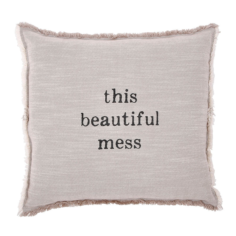 This Beautiful Mess Accent Pillow