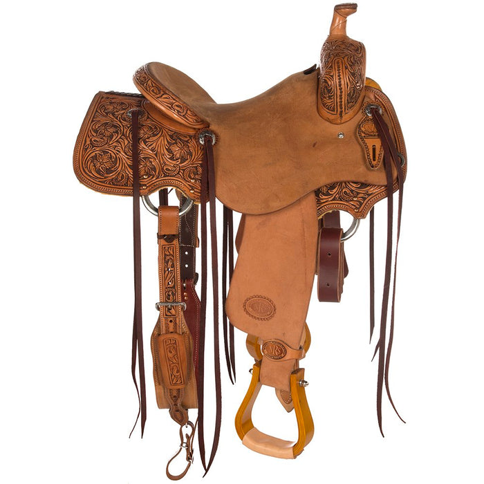 NRS Competitor Series Single Skirt Ranch Cutter Saddle