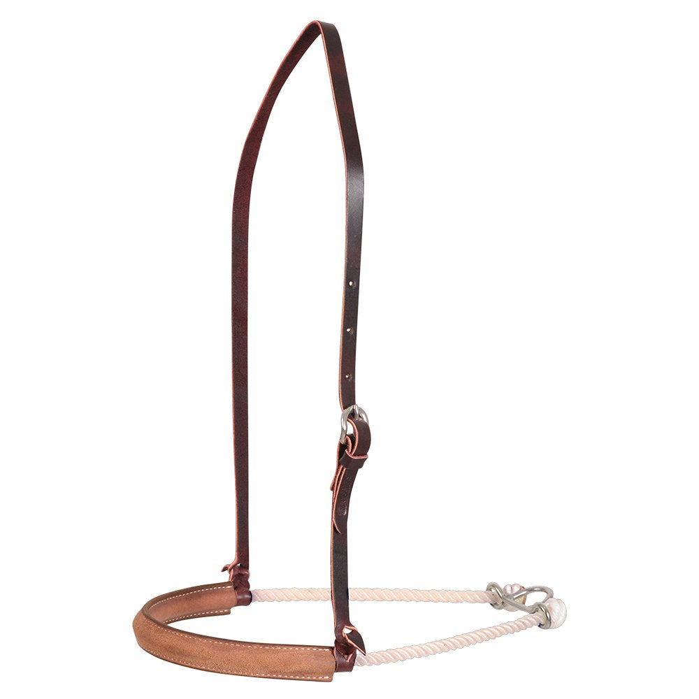 Martin Saddlery Corkscrew Border Single Rope Noseband