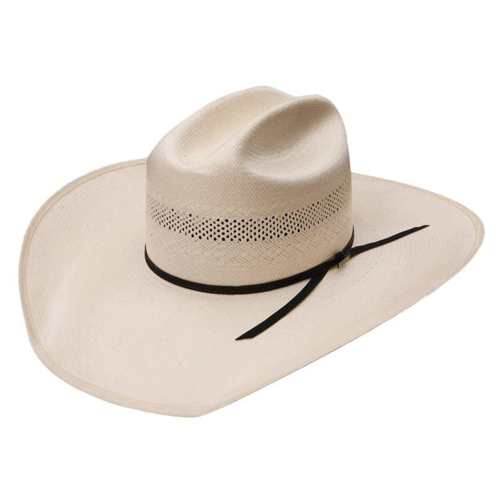 Resistol 20X Cut Bank Straw Cowboy Hat