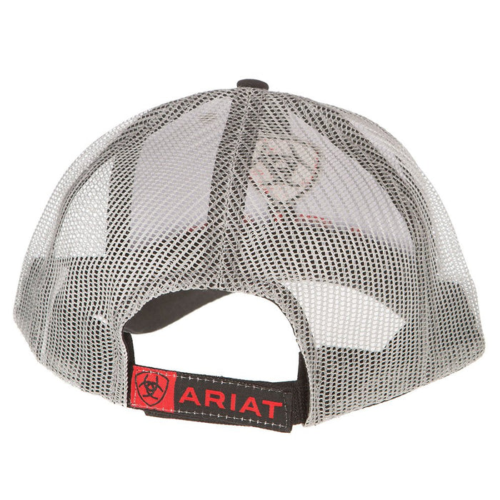 Ariat Black and White Mesh Cap
