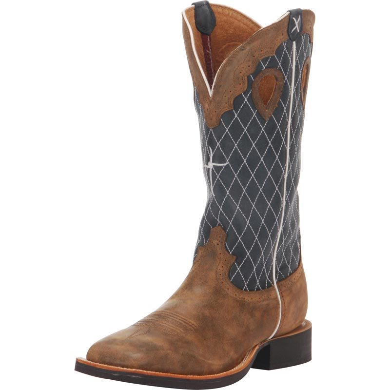 Men's Twisted X Ruff Stock Bomber Cowboy Boots