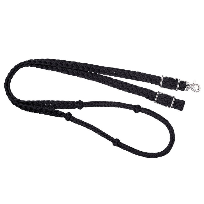 Tough-1 Knotted Cord Barrel Reins