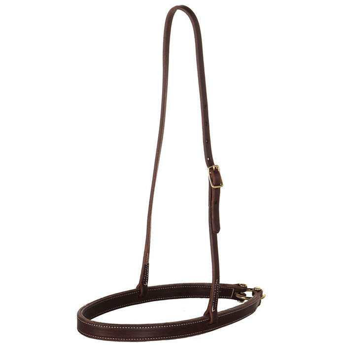 NRS Oiled Flat Harness Leather Noseband
