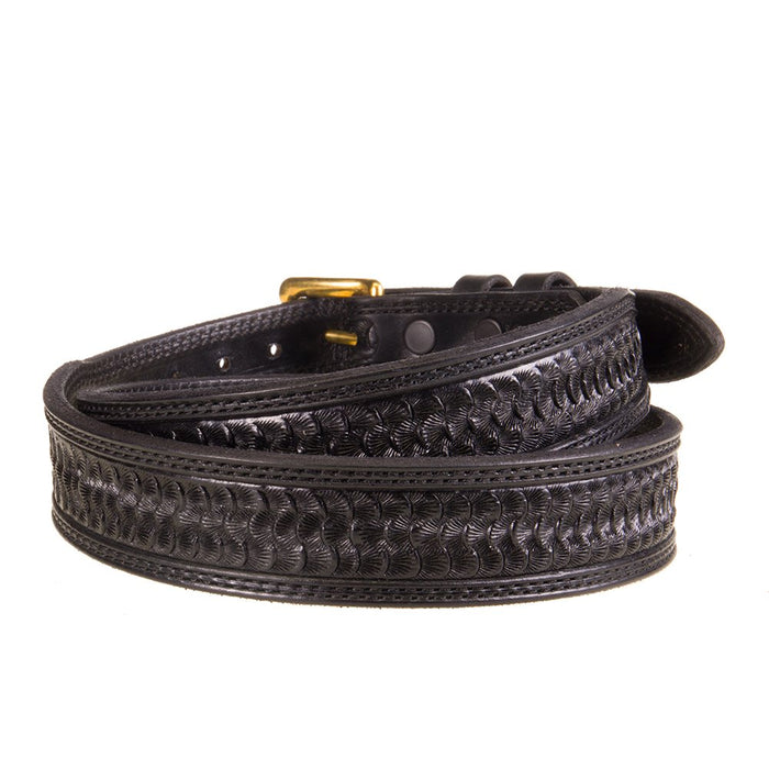 Texas Saddlery Black Swirl Tapered Belt