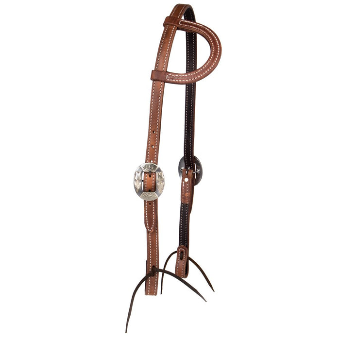 NRS Tack TLC Series Single Ear Headstall with Tulip Cart Buckles