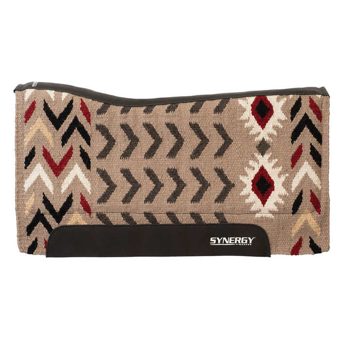 Weaver Synergy 1in Contoured Performance Saddle Pad