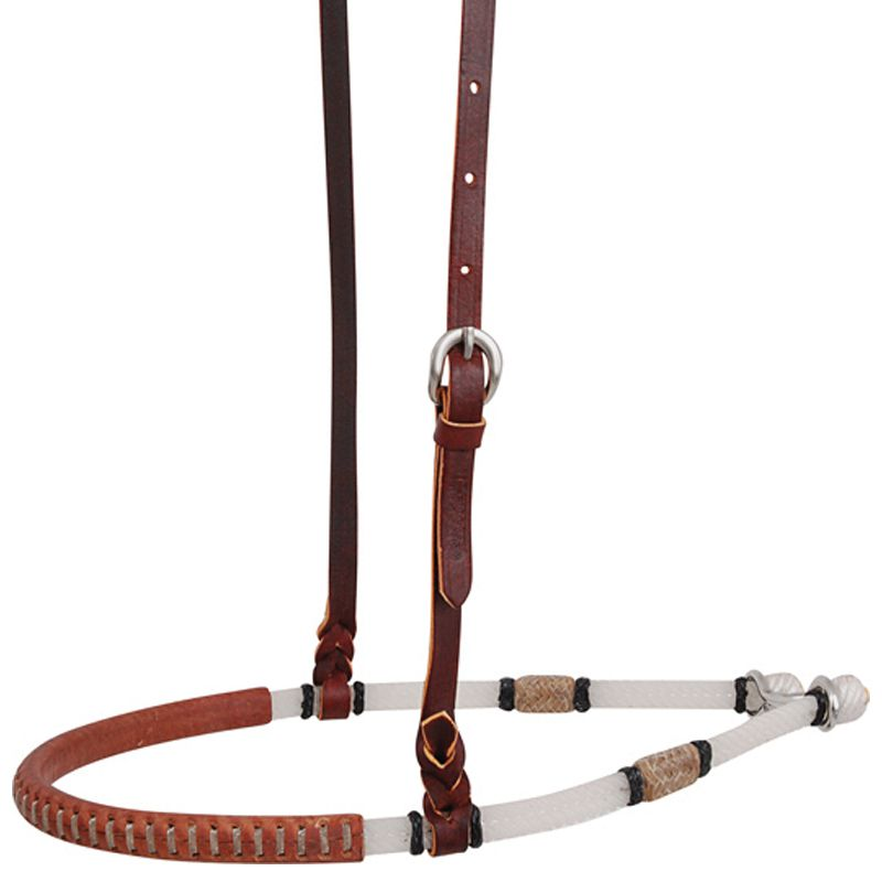 Double Rope Covered Rawhide Martin Saddlery Noseband