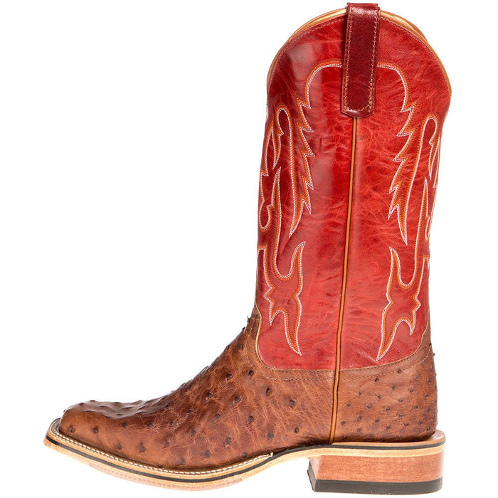 Mens NRS Ride Ready Kango FQ 13in Red Goat Top Cowboy Boot