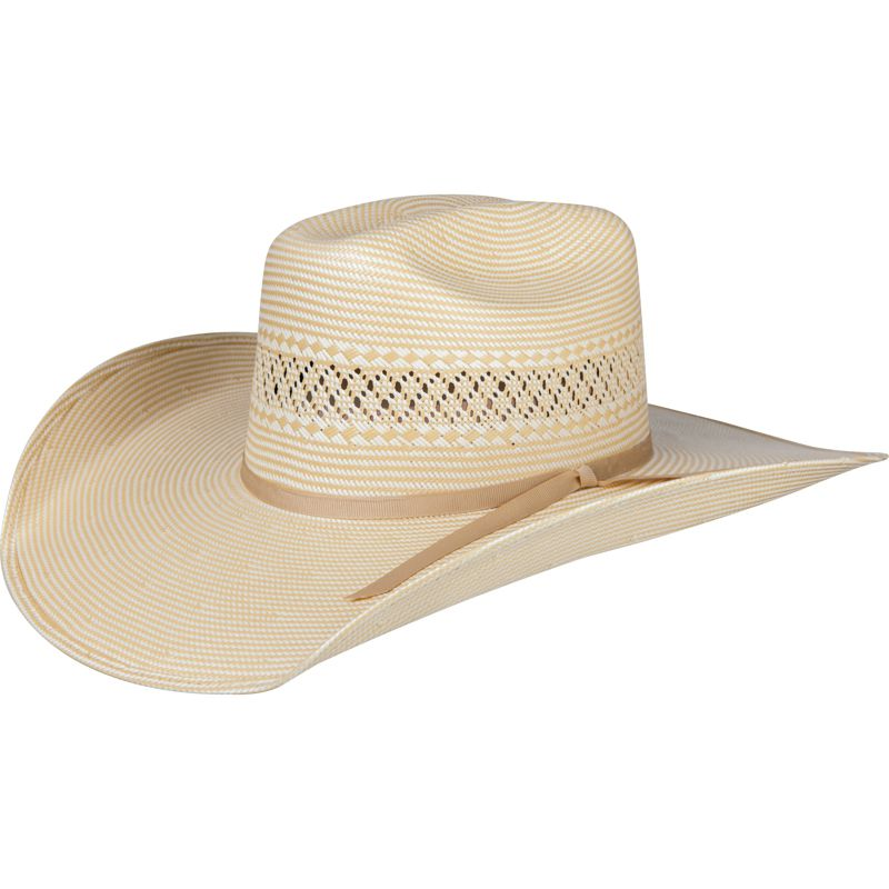 Atwood Las Vegas Pre-Creased Straw Cowboy Hat