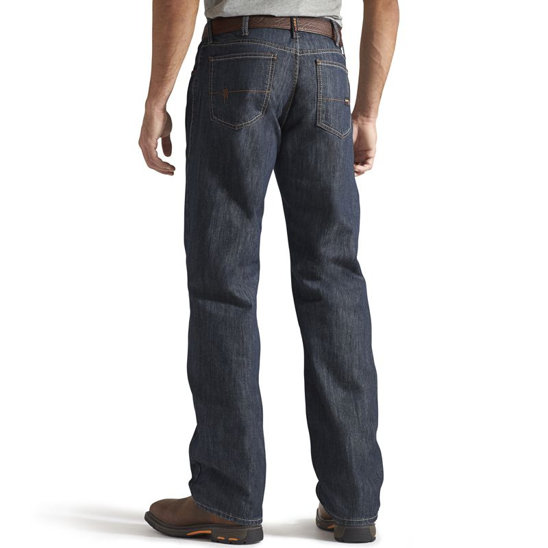 Men's Ariat M3 Loose Flame Resistant Shale Jeans