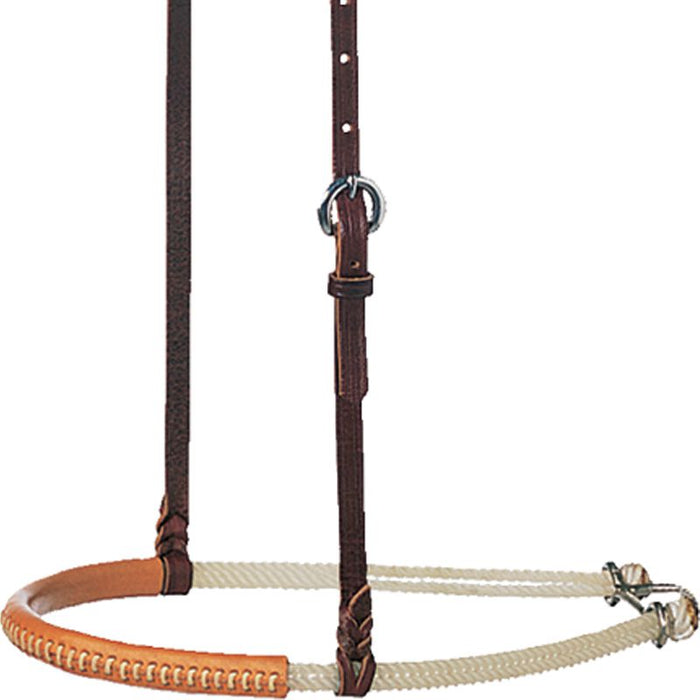 Martin Double Rope Leather Covered Noseband