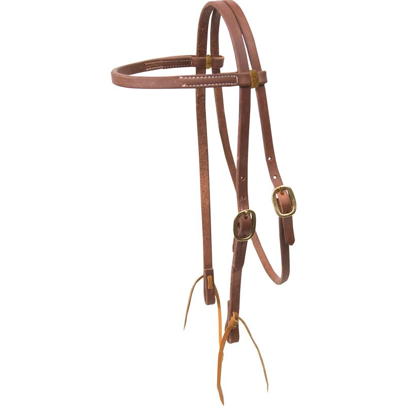 Single Buckle 5/8in Browband Headstall