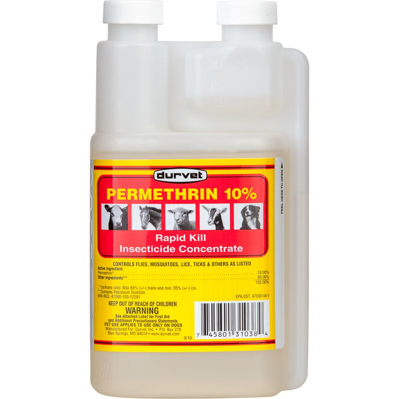 Durvet Permethrin 10% Concentrate 16oz