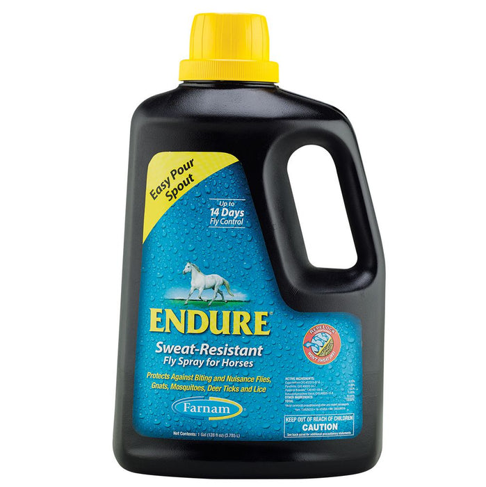 Farnam Endure Sweat-Resistant Equine Fly Spray Gallon Refill