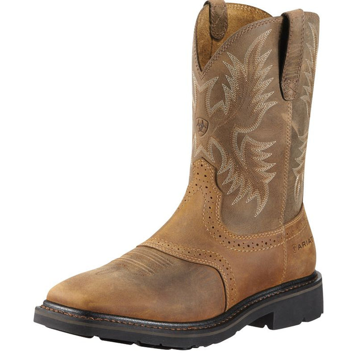 Men's Ariat Sierra Aged Bark Steel Toe Work Boots