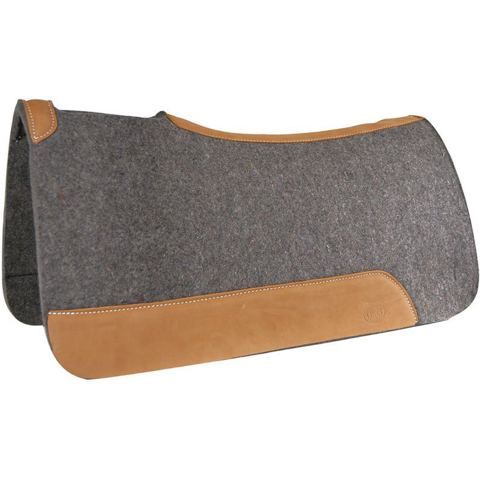 Tod Slone Grey Medium Contour Saddle Pad
