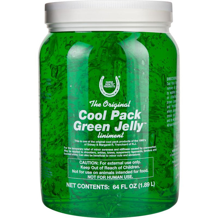 Horse Health Products Cool Pack Green Jelly Liniment 1/2 Gallon
