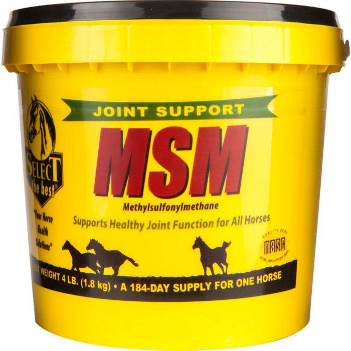 Select the Best MSM Joint Support Powder 4lb