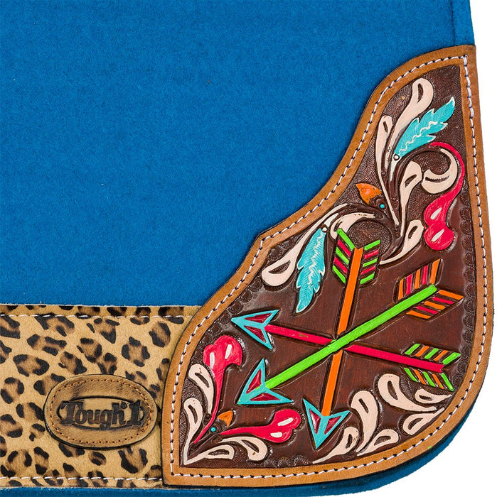 Tough-1 Hand Painted Arrow Saddle Pad