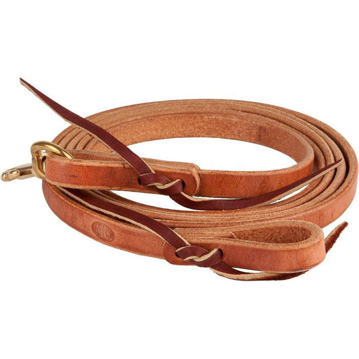 NRS Tack Flat 5/8 in. x 8 ft. Roping Reins