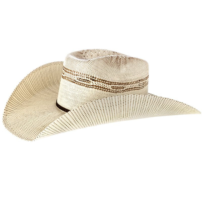 Twister Brown Bangora Straw Cowboy Hat