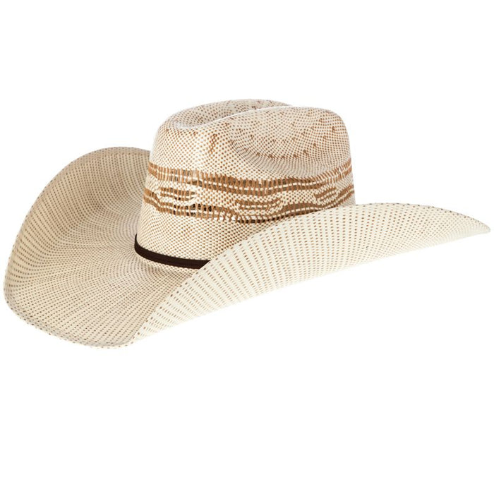 Twister Tan Bangora Straw Cowboy Hat