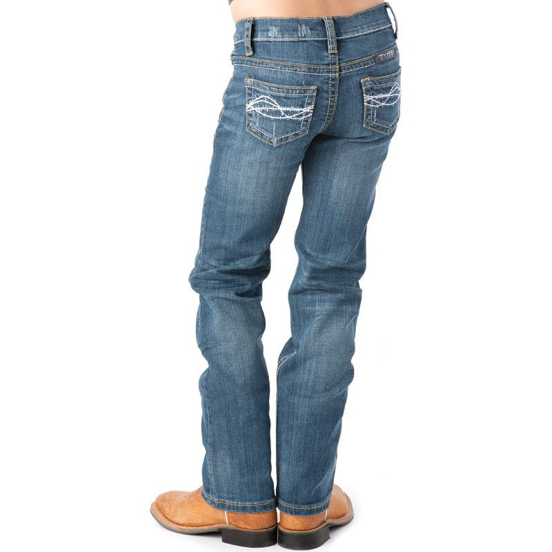 Girl's Cowgirl Tuff Don't Fence Me In Jeans