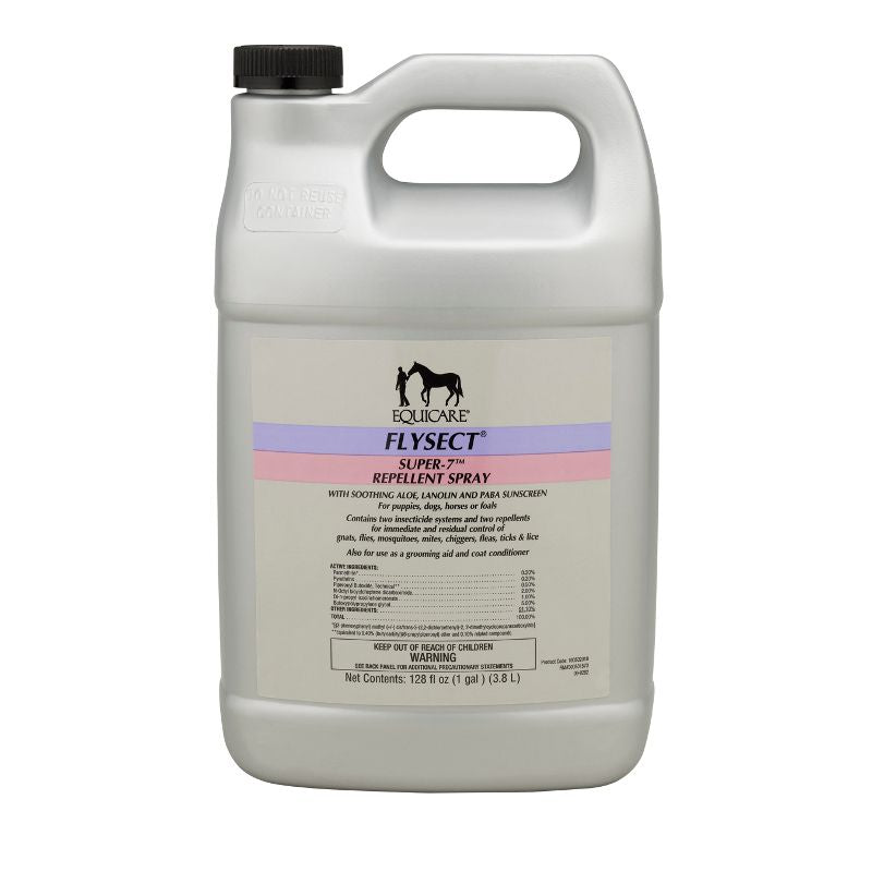 Farnam Equicare Flysect Super-7 Repellent Spray Gallon Refill
