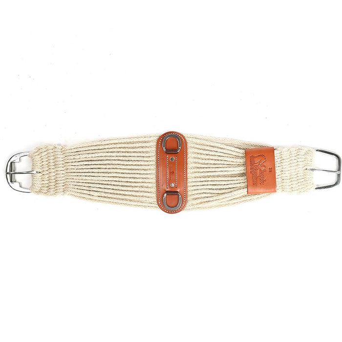 Classic Equine 100% Mohair 31 Strand Roper Cinch