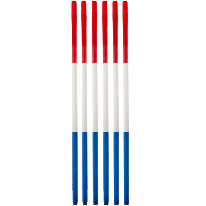 High Country Plastics Pole Bending Poles - Set of 6