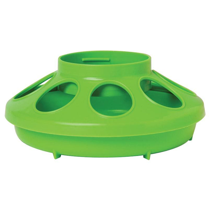 Little Giant 1 Quart Green Plastic Feeder Base