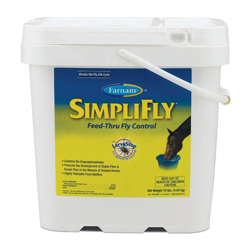 Farnam Simplifly with Larvastop Feed -Thru Fly Control
