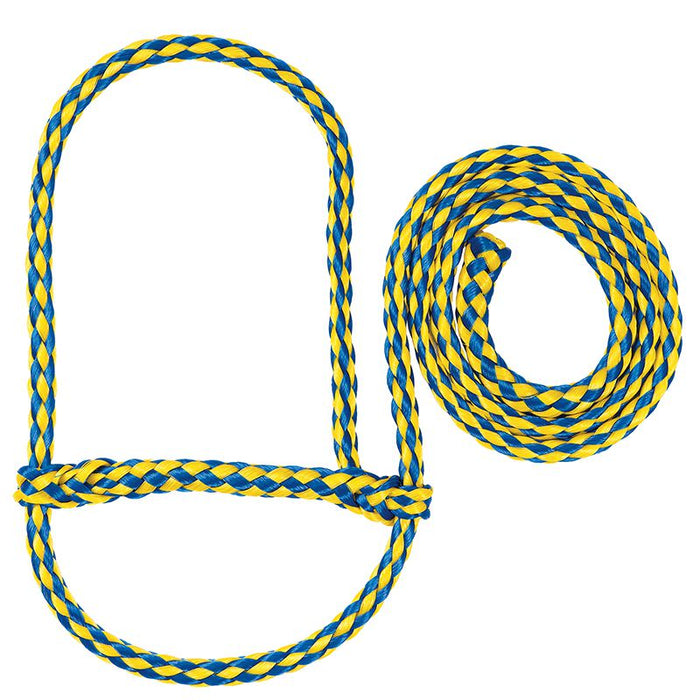 Weaver Leather Poly Rope Sheep Halter Blue/Yellow