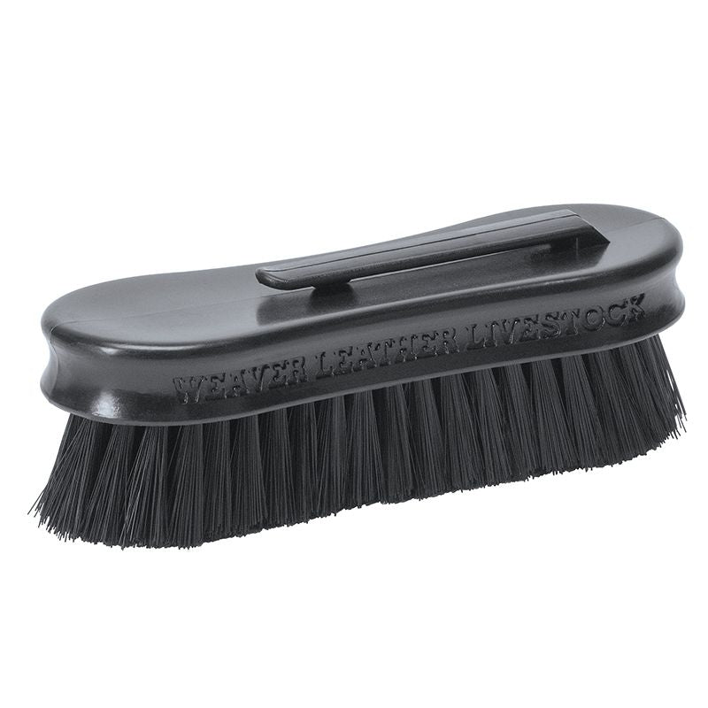 Weaver Leather Pig Face Brush Black
