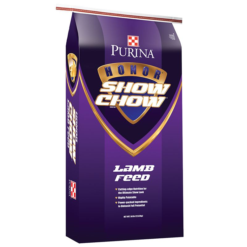 Purina Honor Show Chow Show Lamb Grower 18 DX 50lb