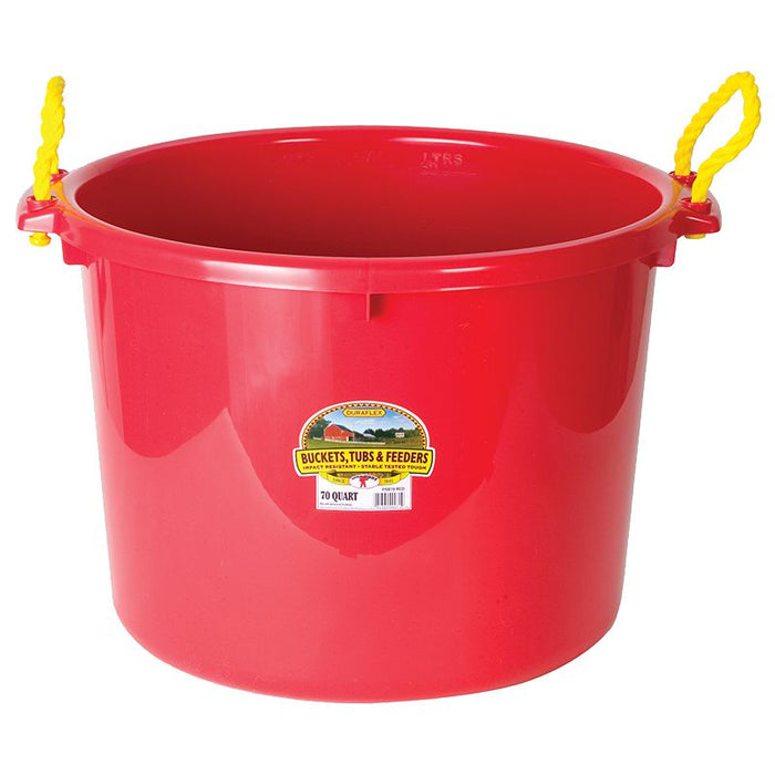 Little Giant Red 70 Quart Muck Tub