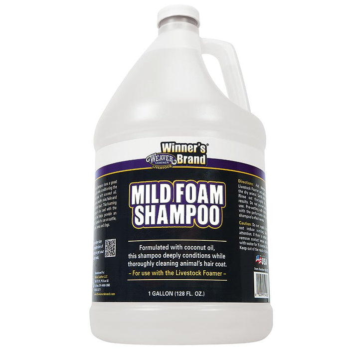 Weaver Leather Pro Wash Mild Foam Shampoo Gallon