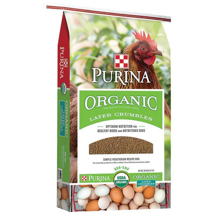 Purina Organic Layer Crumbles 35lbs